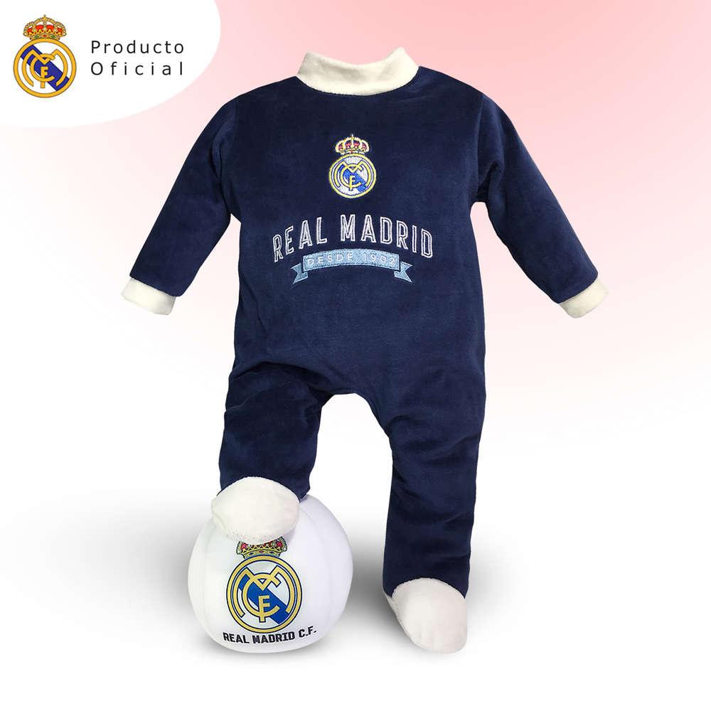 Click para ampliar. InicioCestas para bebésCestas Temáticas Trajecito Real  Madrid ... e0f13feb5fc62