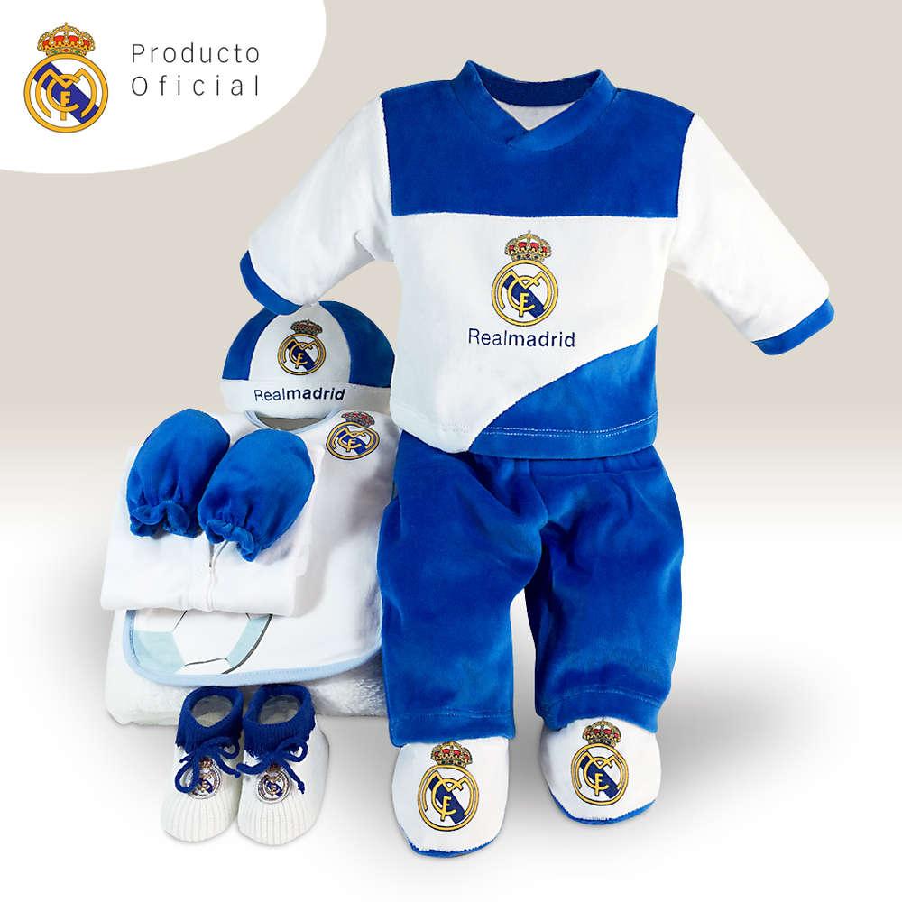 Click para ampliar. InicioCestas para bebésCestas Temáticas Cestas para bebés  Real Madrid 0228f830744ae