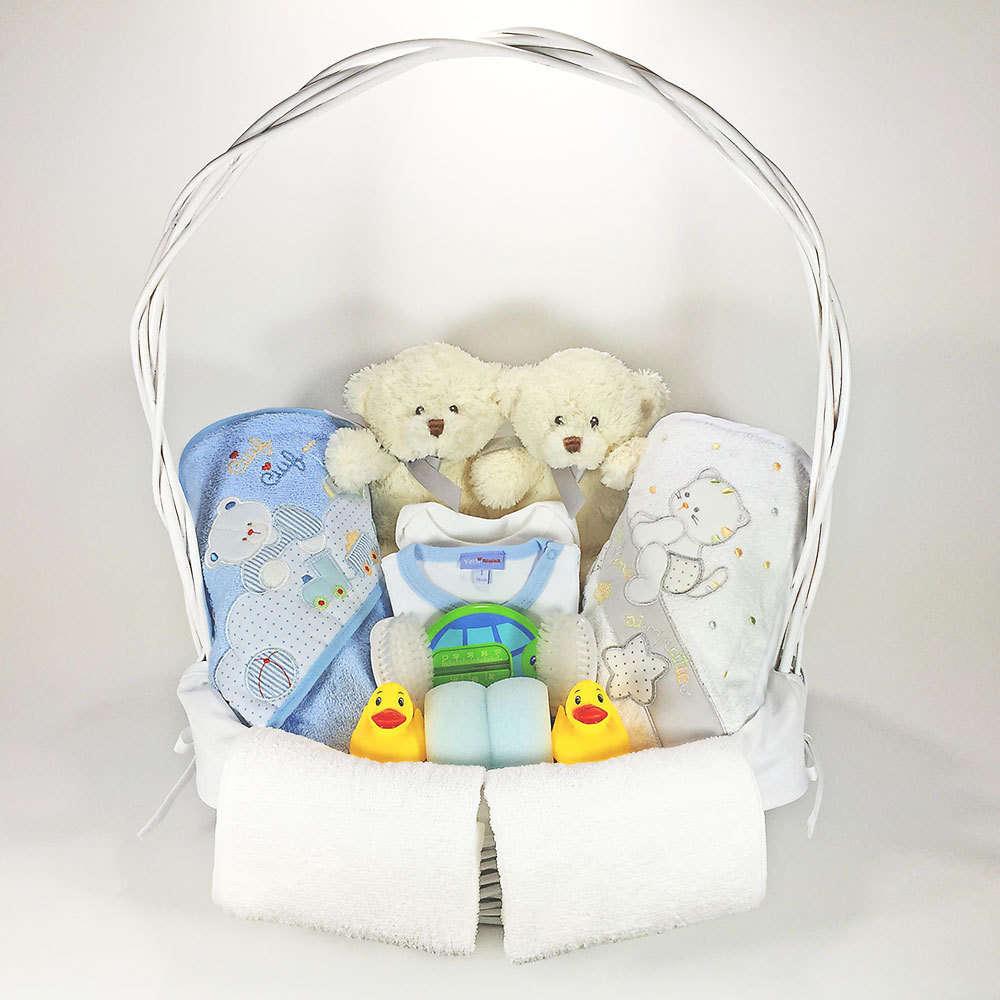 Canastilla bebe ba o cestas para recien nacidos - Bano para dos ...