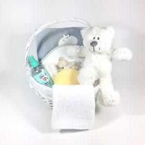 Cesta para bebés spa mimbre
