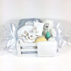 Cesta para bebés spa pañalera