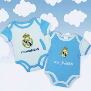 Set bodys real madrid azul