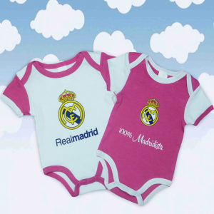 Set bodys real madrid rosa