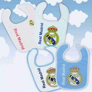 Set baberos Real Madrid