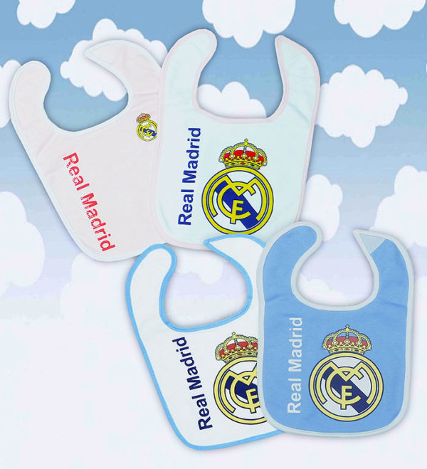 Set baberos Real Madrid